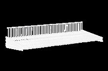 Trådhyllplan 900x400 mm Vit