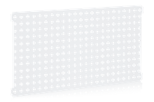 Perforerad Panel 900x480 mm cc 38 Vit