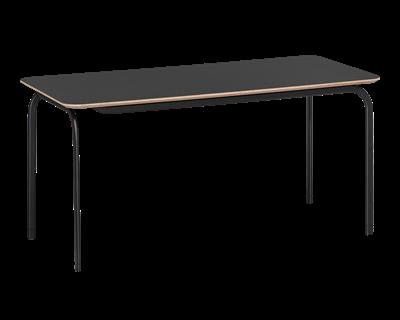 Mötesbord Straw 1600x800 Svart laminat