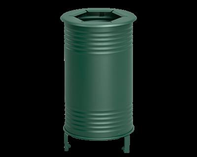 Avfallsbehållare Tin, Brännbart, Grön