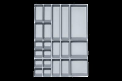 Kunststoffeinsatz f. Schubladenblock