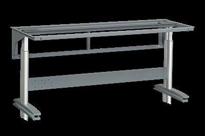 Bordsstativ W 250 1600x600 mm exklusive Bordsskiva