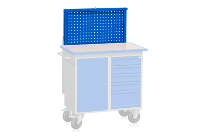 Pull-Up Panel for Mobile Workbench