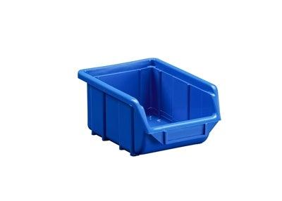 Plastback 110x160x80 mm Blå 1 l