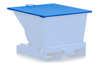 Flat Lid for Tilting Container 150 l