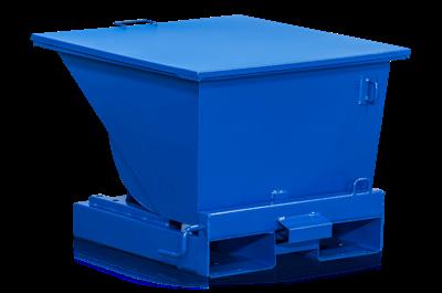 Flacher Deckel für Kippbehälter Standard 150 l