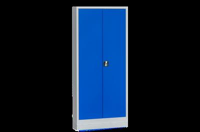 Materialschrank 300 1950x920x420 mm Grau/Blau