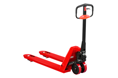 Hand Pallet Truck Q 2000 800 mm Single Polyurethane Red
