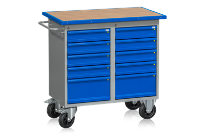 Mobile Workbench HD 200 10 Drawers