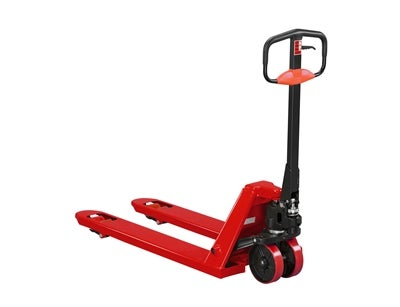 Hand Pallet Truck Q 2000 1150 mm Boggie Nylon Red