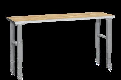 Arbetsbord HD 500 2000x600 mm Ekparkett