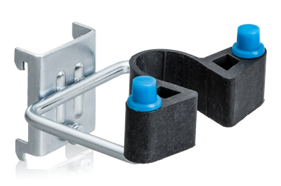 Double Hook Rubber Clamp 38x40 mm 5-Pack