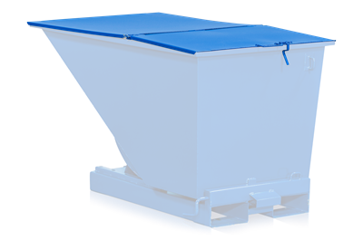 Flat Lid for Tilting Container Standard 1100 l