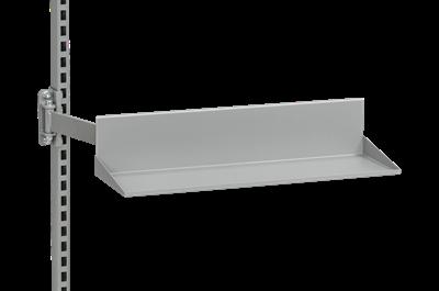 Regalboden f. Schwenkarm 545x170 mm Grau