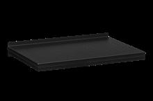Plåthyllplan Perforerad 600x400 mm Svart