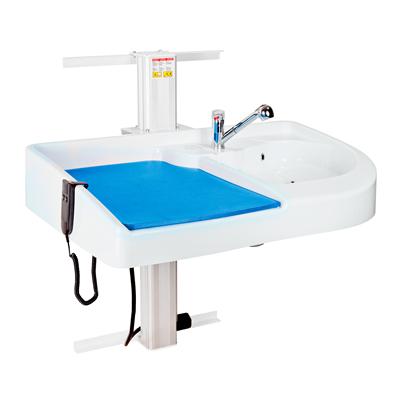 Skötbord Lifty Vägghängt inklusive Tvättdel Quick 120