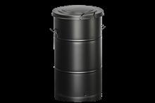 Avfallsbehållare 115 l Svart