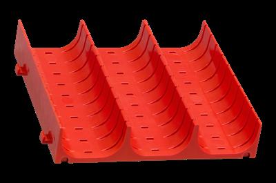 Muldeneinsatz für Schubladen 45 mm