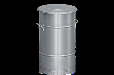 Avfallsbehållare 70 l Galvaniserad