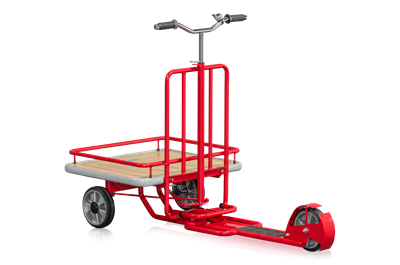 Platform Scooter Red