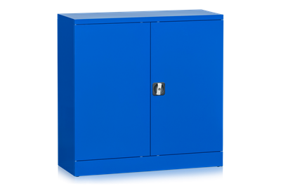 Workshop Cabinet LD 300 including 2 Shelves 1000x1000x420 mm Blue