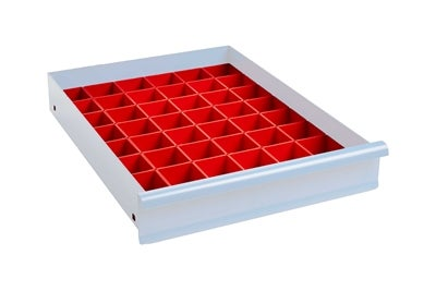 Lådinredning 100 mm Plastlådor Kombination 6