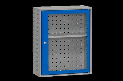 Materialschrank inklusive Plexiglastür