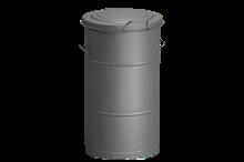 Avfallsbehållare 115 l Grå