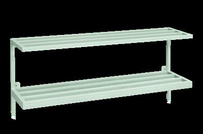 Hatt-/Skohylla 990 mm Grön