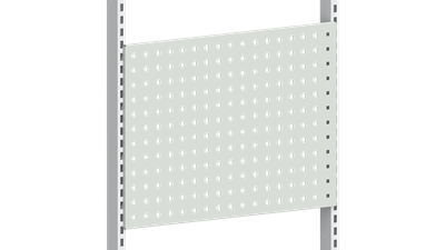 Perforated Panel 670 Light Grey