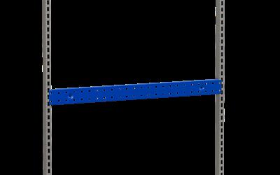 Perforerad Upphängningslist 896x75 mm Blå