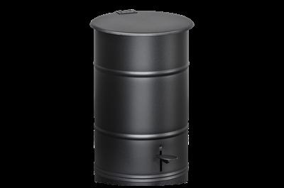 Avfallsbehållare 30 l inklusive Fotpedal Svart