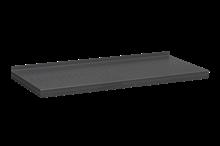 Plåthyllplan Perforerad 900x400 mm Grå