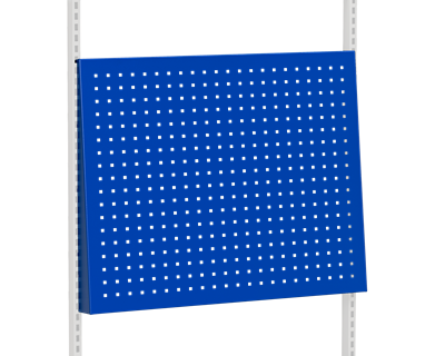 Perforated Panel Angled 896x1400 mm Blue