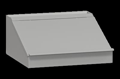 Schreibpult Grau