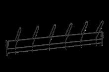 Stövelupphängningslist 900 mm Svart