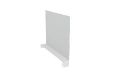 Avdelare till Underhylla 585x400 mm - Ljusgrå