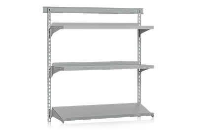Wall Shelf 3 Shelves Base Section
