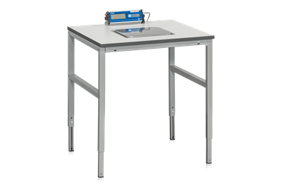 Workbench with Scale 800x800x24 mm