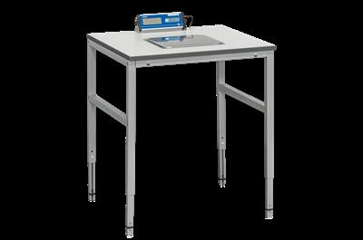 Arbeitstisch mit Waage 800x800 mm