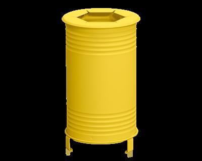 Avfallsbehållare Tin, Brännbart, Gul