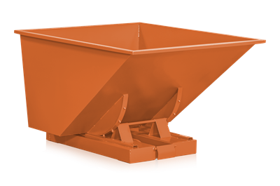 Tippcontainer 900 l Orange