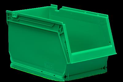 Plastback Grön 4L