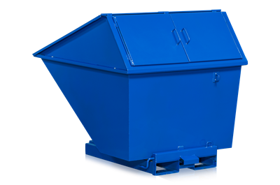 Tilting Container 1100 l including High Lid (1300 l)