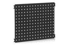 Perforerad Panel 600x480 mm cc 38 Svart
