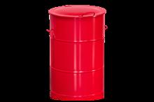 Avfallsbehållare 160 l Röd