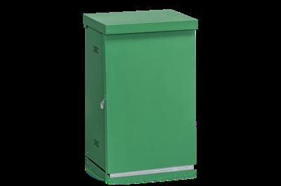 Säckhållare Plåt Grön