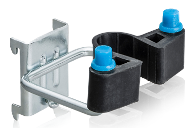 Double Hook Rubber Clamp 25x40 mm 5-Pack