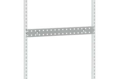 Perforated Suspension Beam 666x75 mm Grey