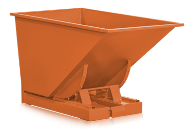 Kippbehälter 600 l Orange